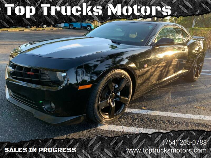2011 Chevrolet Camaro for sale at Top Trucks Motors in Pompano Beach FL