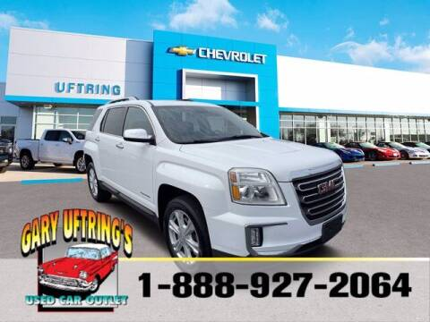 2016 GMC Terrain for sale at Gary Uftring's Used Car Outlet in Washington IL