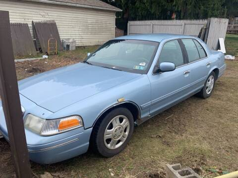 1999 Ford Crown Victoria for sale at Trocci's Auto Sales in West Pittsburg PA