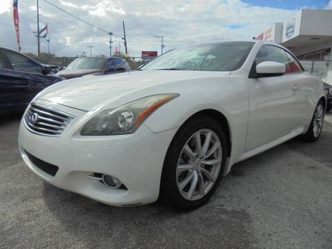2011 Infiniti G37 Convertible for sale at Automax Wholesale Group LLC in Tampa FL