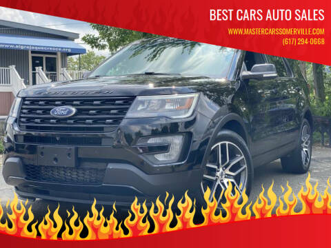 2017 Ford Explorer for sale at Best Cars Auto Sales in Everett MA