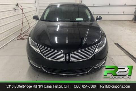 2014 Lincoln MKZ for sale at Route 21 Auto Sales in Canal Fulton OH