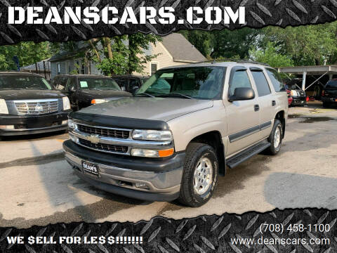 2005 Chevrolet Tahoe for sale at DEANSCARS.COM in Bridgeview IL