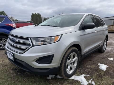 2018 Ford Edge for sale at Al's Auto Inc. in Bruce Crossing MI