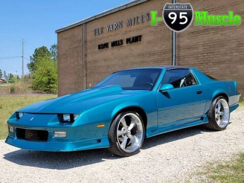 1991 Chevrolet Camaro for sale at I-95 Muscle in Hope Mills NC
