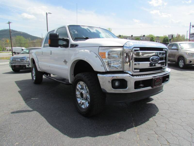 2012 Ford F-250 Super Duty for sale at Hibriten Auto Mart in Lenoir NC