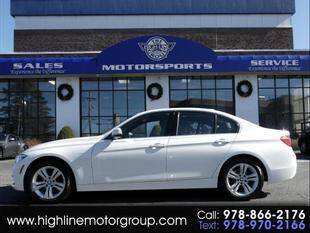 2018 BMW 3 Series for sale at Highline Group Motorsports in Lowell MA