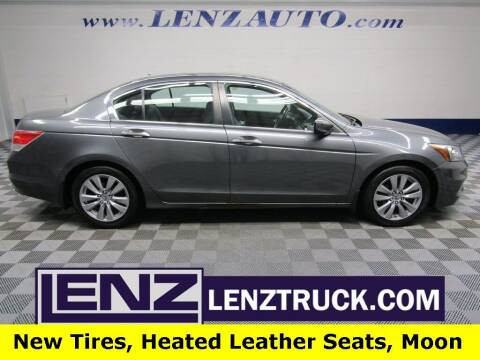 2012 Honda Accord for sale at LENZ TRUCK CENTER in Fond Du Lac WI
