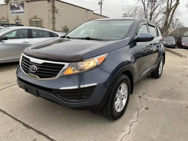 2011 Kia Sportage for sale at T & G / Auto4wholesale in Parma OH