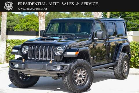 2021 Jeep Wrangler Unlimited for sale at Presidential Auto  Sales & Service in Delray Beach FL