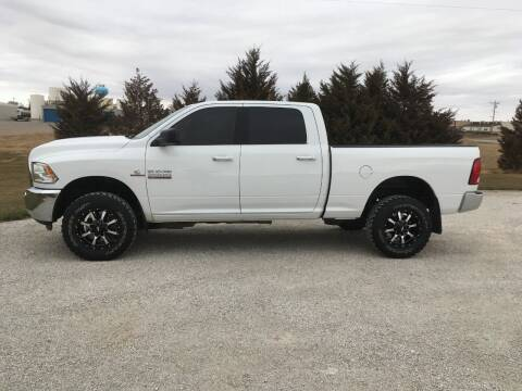 2018 RAM Ram Pickup 2500 for sale at B K Auto Inc. in Scott City KS