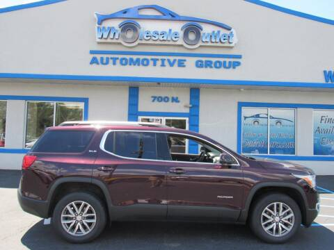 2017 GMC Acadia for sale at The Wholesale Outlet in Blackwood NJ