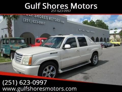 2002 Cadillac Escalade EXT for sale at Gulf Shores Motors in Gulf Shores AL
