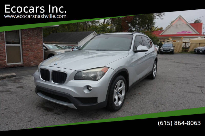 2013 BMW X1 for sale at Ecocars Inc. in Nashville TN