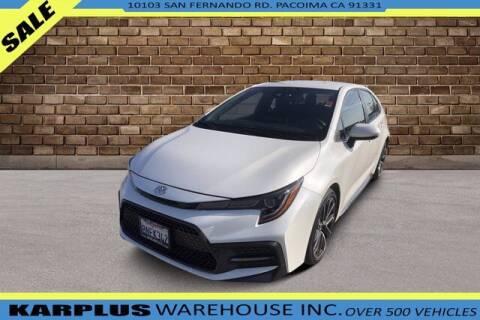 2020 Toyota Corolla for sale at Karplus Warehouse in Pacoima CA