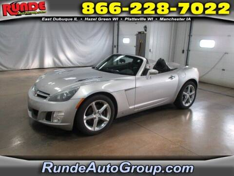2008 Saturn SKY for sale at Runde PreDriven in Hazel Green WI