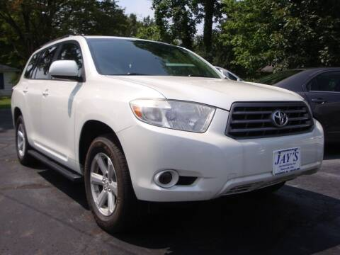 2010 Toyota Highlander for sale at Jay's Auto Sales Inc in Wadsworth OH