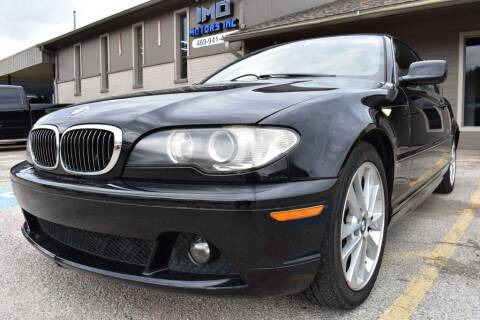 2005 BMW 3 Series for sale at IMD Motors in Richardson TX