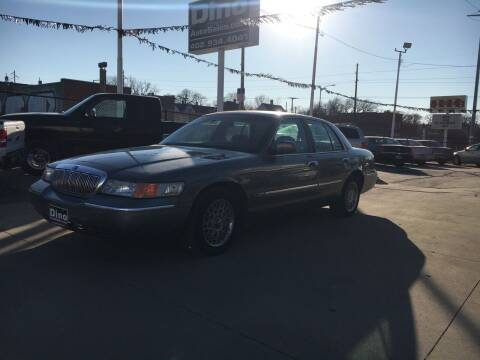 2001 Mercury Grand Marquis for sale at Dino Auto Sales in Omaha NE