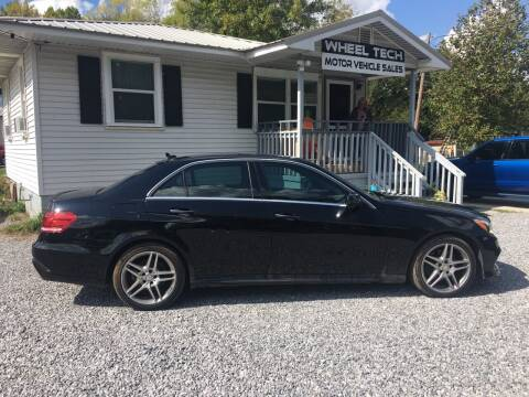 2014 Mercedes-Benz E-Class for sale at Wheel Tech Motor Vehicle Sales in Maylene AL