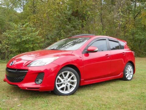 2012 Mazda MAZDA3 for sale at BARKER AUTO EXCHANGE in Spencer IN
