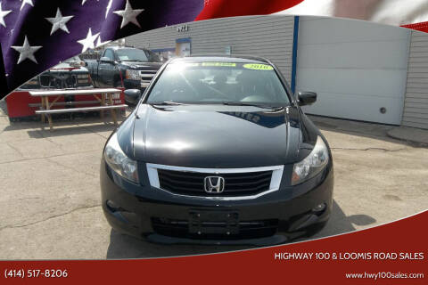 2010 Honda Accord for sale at Highway 100 & Loomis Road Sales in Franklin WI