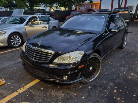 2007 Mercedes-Benz S-Class for sale at All Around Automotive Inc in Hollywood FL