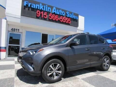 2017 Toyota RAV4 for sale at Franklin Auto Sales in El Paso TX