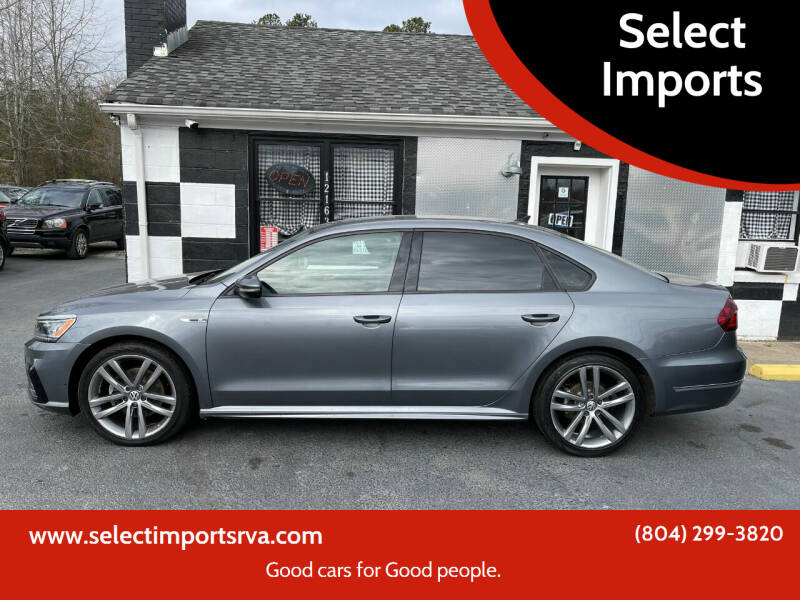 2018 Volkswagen Passat for sale at Select Imports in Ashland VA