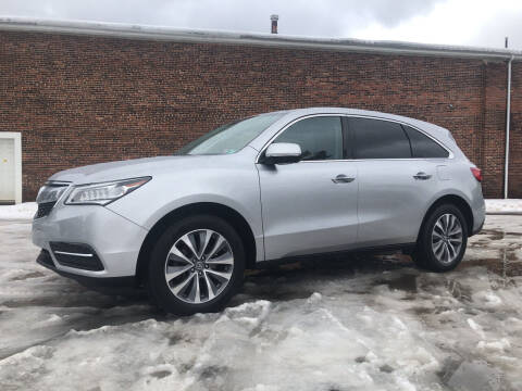 2015 Acura MDX for sale at Jim's Hometown Auto Sales LLC in Byesville OH