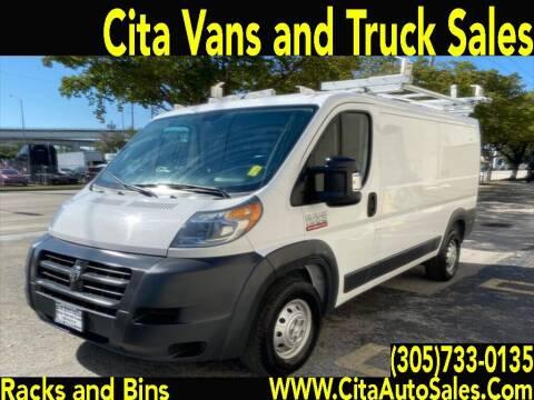 2016 RAM ProMaster Cargo for sale at Cita Auto Sales in Medley FL