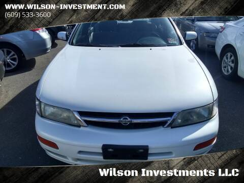 1999 Nissan Maxima for sale at Wilson Investments LLC in Ewing NJ