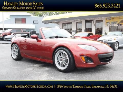 2012 Mazda MX-5 Miata for sale at Hawley Motor Sales in Sarasota FL