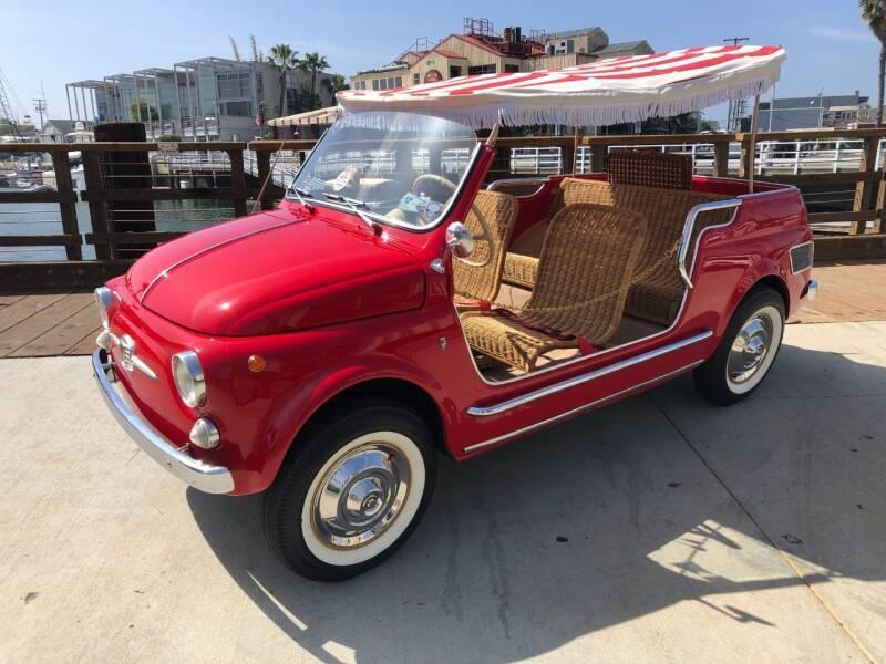 1965 FIAT 500 Jolly for sale at Elite Dealer Sales in Costa Mesa CA