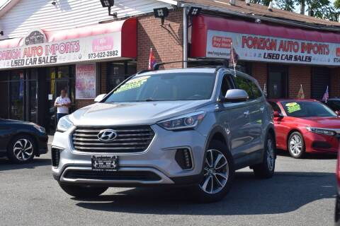 2017 Hyundai Santa Fe for sale at Foreign Auto Imports in Irvington NJ