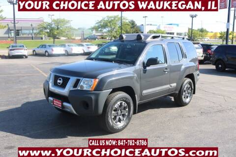 2015 Nissan Xterra for sale at Your Choice Autos - Waukegan in Waukegan IL