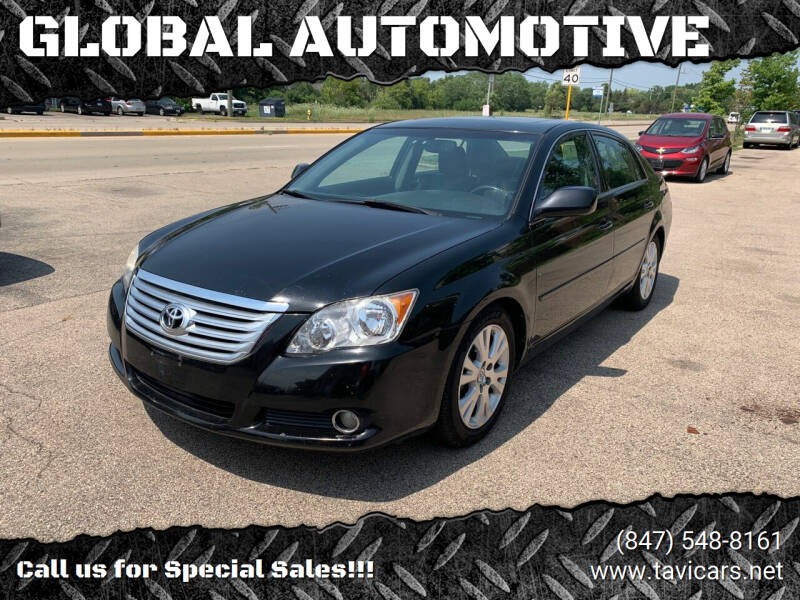 2010 Toyota Avalon for sale at GLOBAL AUTOMOTIVE in Grayslake IL