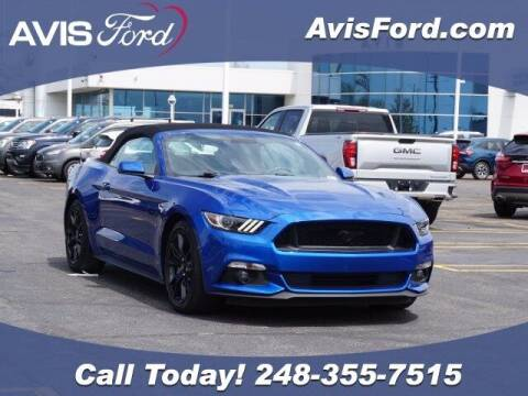 2017 Ford Mustang for sale at Work With Me Dave in Southfield MI