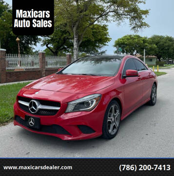 2014 Mercedes-Benz CLA for sale at Maxicars Auto Sales in West Park FL