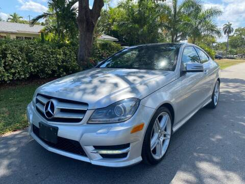 2012 Mercedes-Benz C-Class for sale at Car Girl 101 in Oakland Park FL