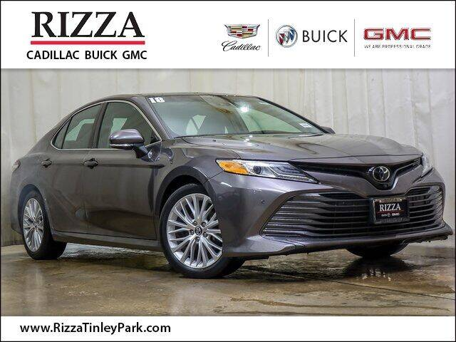 2018 Toyota Camry for sale at Rizza Buick GMC Cadillac in Tinley Park IL