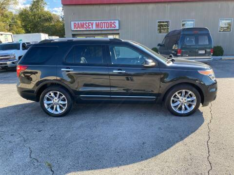 2014 Ford Explorer for sale at Ramsey Motors in Riverside MO