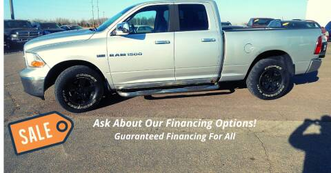 2012 RAM Ram Pickup 1500 for sale at Salmon Automotive Inc. in Tracy MN
