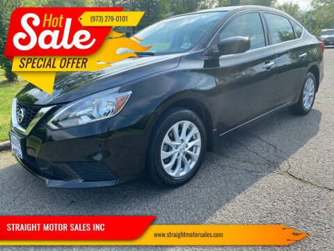 2018 Nissan Sentra for sale at STRAIGHT MOTOR SALES INC in Paterson NJ