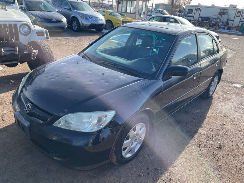 2004 Honda Civic for sale at PYRAMID MOTORS - Fountain Lot in Fountain CO