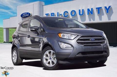 2020 Ford EcoSport for sale at TRI-COUNTY FORD in Mabank TX