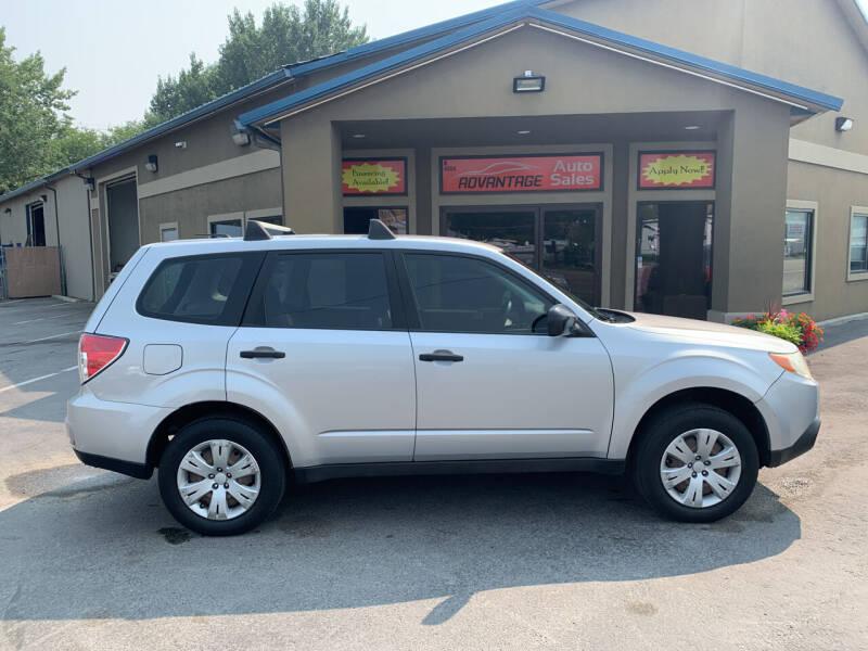 2010 Subaru Forester for sale at Advantage Auto Sales in Garden City ID