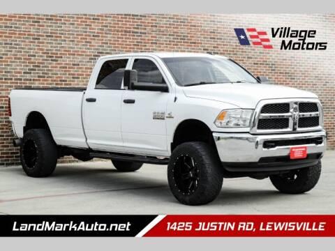 2015 RAM Ram Pickup 2500 for sale at Village Motors in Lewisville TX