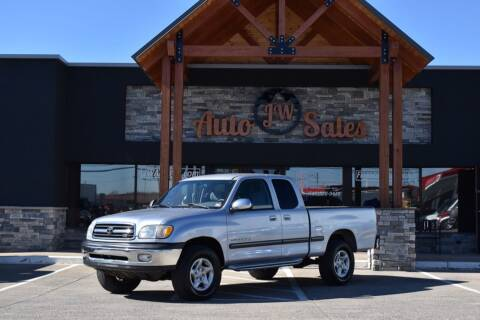 2000 Toyota Tundra for sale at JW Auto Sales LLC in Harrisonburg VA