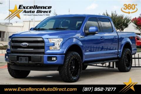 2015 Ford F-150 for sale at Excellence Auto Direct in Euless TX
